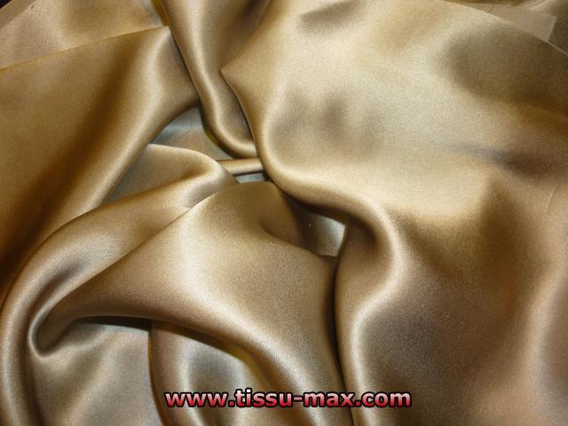Satin de soie satin de soie anan tissus au m tre - Soie imprimee au metre ...