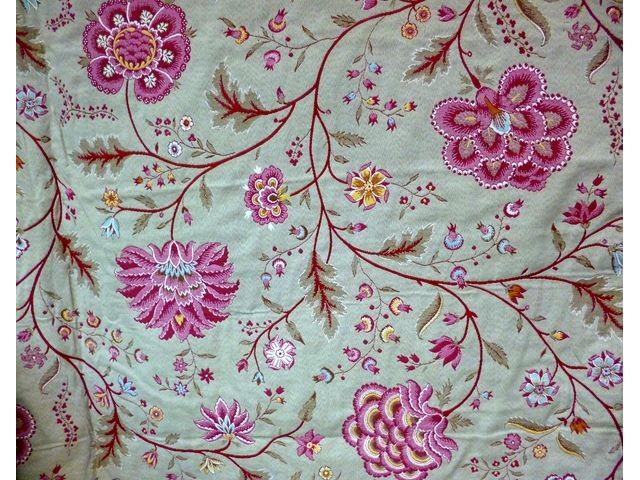 Ameublement tissu ameublement a158 tissus au m tre for Velours de soie ameublement