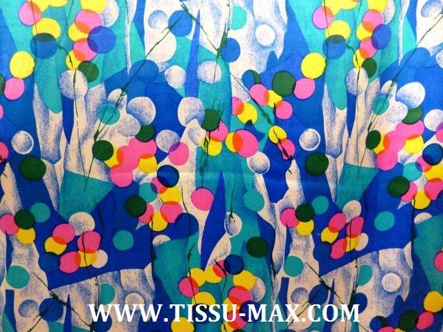 Satin polyester froiss tissus au m tre - Soie imprimee au metre ...