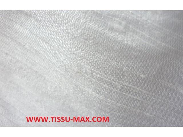 Tissu soie sauvage uni tissus au m tre - Soie imprimee au metre ...