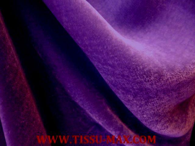 Velours tissus au m tre for Velours de soie ameublement